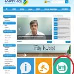 Prefeitura de Manhuaçu lança Diário Oficial Eletrônico.