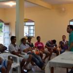 Secretário de Esportes de Manhuaçu reúne-se com Comunidade do Palmeirinha.