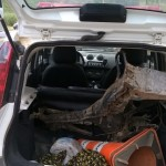 PM de Reduto recupera chassi de motocicleta roubada.