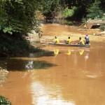 Limpeza do Rio Carangola.