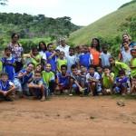 Alunos da Escola Municipal Maria Conceição de Manhuaçu visitam Barragem de captação de água.