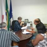 Manhuaçu-Prefeito recebe representantes do Conselho Municipal de Saúde.