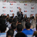 """OAB Manhuaçu leva projeto """"OAB vai à Escola"""" a Reduto."""