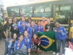 Equipe de Futsal Feminino de Martins Soares foi destaque em 2014