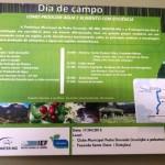 Dia de Campo-Como produzir água e alimento com eficiência.