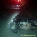 Homem embriagado provoca acidente em Divino, vítima foi socorrida; motorista foi preso