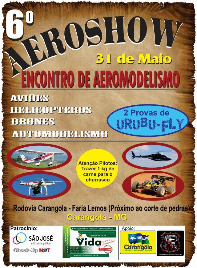 Cartaz 6º Aeroshow