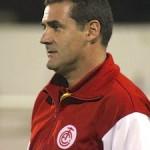 """Novo treinador do Tombense Marcelo Mabília chega ao Tombense e avalia: """"Momento é de estudo""""."""