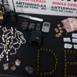 Polícia Civil apreende mais de mil pedras de crack em Juiz de Fora