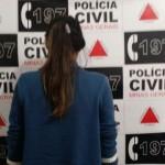 Polícia Civil prende mulher por tráfico de drogas em Muriaé.