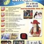 V Semana Cultural do Município de Vieiras - XVI FOREA.
