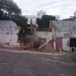 Estádio do Itaperuna Esporte Clube foi demolido.