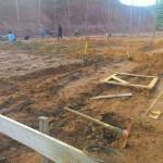 Geração de emprego: construção de galpões já começou em Pedra Dourada.