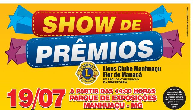 Lions Show de Premios Cartaz