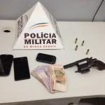 Mais cinco assaltantes são presos pela Polícia Militar.