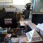 """Polícia Civil deflagra operação """"Bicho Teimoso"""" em Tombos."""