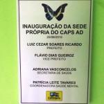 Prefeitura de Carangola inaugura nova sede de do CAPS-AD.