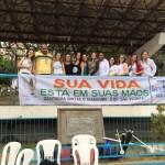 Manhuaçu-NASF realiza campanha antitabagismo.