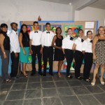 Formatura do Curso de Garçom na Escola Municipal Santa Luzia.
