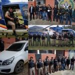 Polícia Civil e Militar realizam Operação Xeque Mate em Divino e região.
