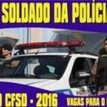 Curso de formação de soldado da Policia Militar MG.