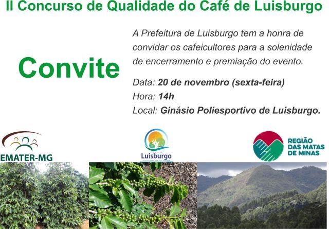 Convite II Concurso Cafe