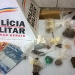 75ª Cia.PM efetua prisão por tráfico ilícito de drogas em Carangola.
