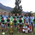 Pedra Dourada vence Campeonato Municipal 2015 em Luisburgo.