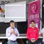 Luisburgo realiza mobilização para saúde mental, prevenção ao câncer de mama e obesidade.