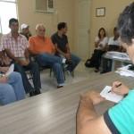 Secretaria de Obras e CMDRS  discutem melhorias nas estadas rurais.