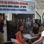"""47º BPM realiza lançamento Operação Natalina""""."""