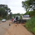 Governo continua limpeza emergencial em Manhuaçu.