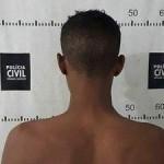 Jovem é preso suspeito de estuprar e roubar mulher.