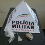 75ª CIA - PM efetua prisão por tráfico ilícito de drogas em Carangola.