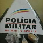 Tráfico de drogas em Carangola, posse de arma de fogo em Orizânia.