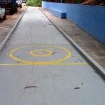 Obras da raia de malha da Rua Machado de Assis foi concluida.