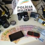 Autores de furto em Fervedouro são presos pela PM.