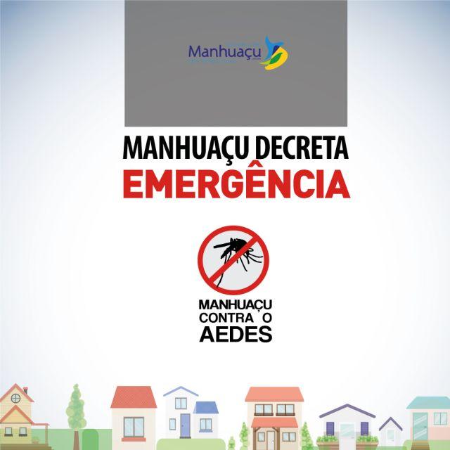 Prefeito decreta situação de emergência por causa do Aedes Aegypt.