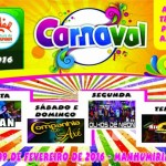 Carnaval 2016 Manhumirim.