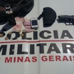 PM de Divino prende autores por furto em loja de Carangola.