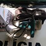 Policia Militar de Carangola prende autor de furto.