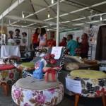 Manhuaçu - Estande de artesanato é sucesso no simpósio de cafeicultura.