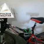 Autor de furto de bicicleta é preso pela PM de Carangola.