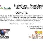 3º Concurso Fotográfico e Encontro Gastronômico.