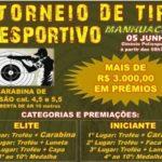 Inscrições abertas para Torneio de Tiro Esportivo.