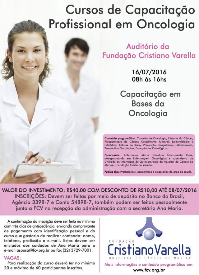 Curso de Capacitação em Oncologia - 16-07-16
