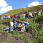 Acidente grave neste domingo na BR-116 no trecho entre Miradouro e Muriaé.