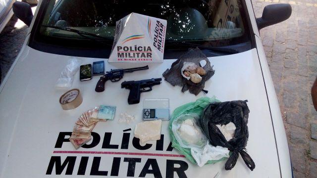 Armas e Drogas Apreendidas em Carangola
