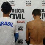 Em Rosário da Limeira: Polícia Civil prende dupla suspeita de ameaçar policial.