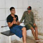 Carangola: após denúncia PM aborda carro e flagra irmãos com cocaína.